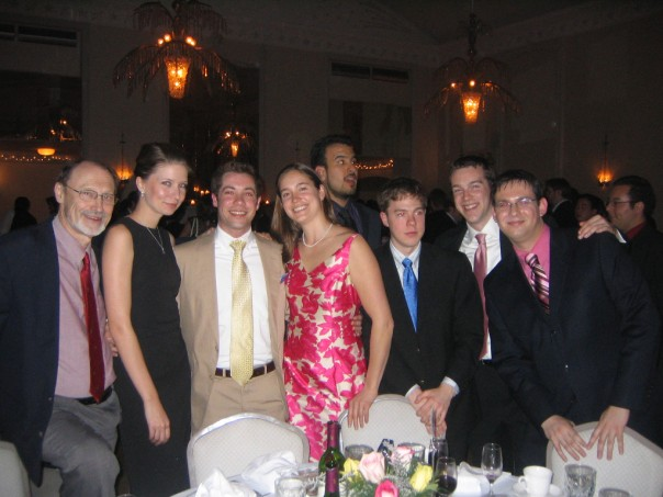 With the 2004-2005 Yale School of Music Trumpet Studio